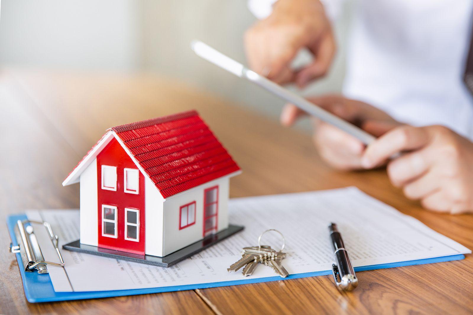 préstamo hipotecario para una casa