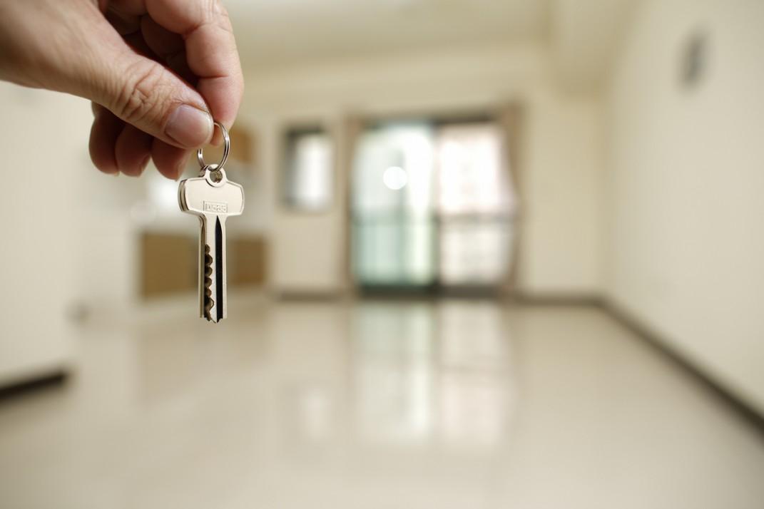 llaves de departamento nuevo
